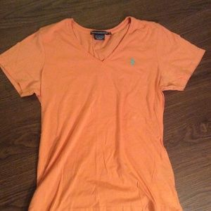 Ralph Lauren Sport Orange T-Shirt Large